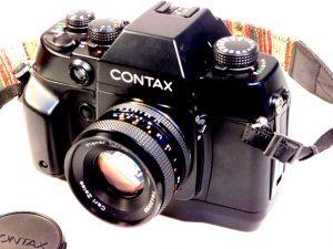 CONTAX AX +50mm f1.7 PLANAR LENS***