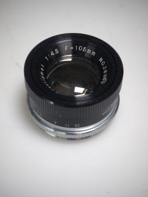ANASTIGMAT 105mm f4.5 LENS***