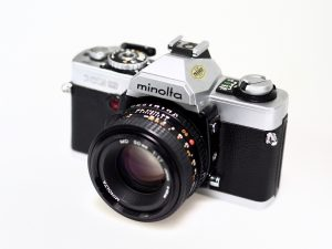MINOLTA XG9 MD 50mm f/1.7***