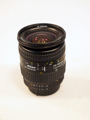 NIKON AF NIKKOR 24-50mm f3.3-4.5 D LENS***