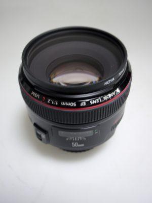 CANON EF 50mm f1.2 L USM LENS***