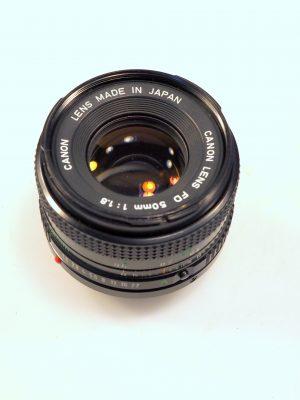 CANON 50mm f1.8 LENS***