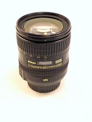 NIKON AF-S NIKKOR 16-85mm f3.5-5.6 G ED VR LENS***