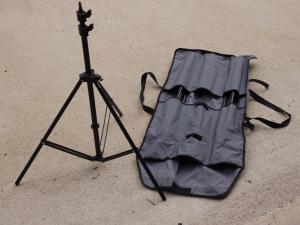 COURENAY UNIVERSAL STAND BAG WITH 3 LIGHTING STANDS***
