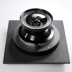 SCHNEIDER SUPER-ANGULON 90mm f/8 ON SINAR DB LENS BOARD***