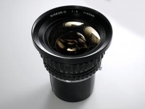 NIKON NIKKOR-D 40mm f/4 FOR BRONICA 6×6***